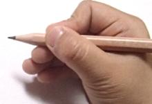 鉛筆の持ち方5